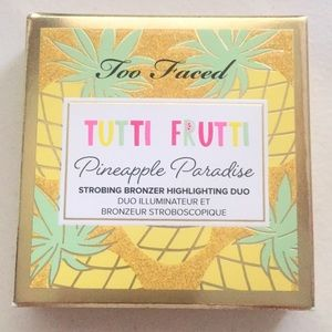 NIB TOO FACED TUTTI FRUTTI PINEAPPLE SUN BRONZER